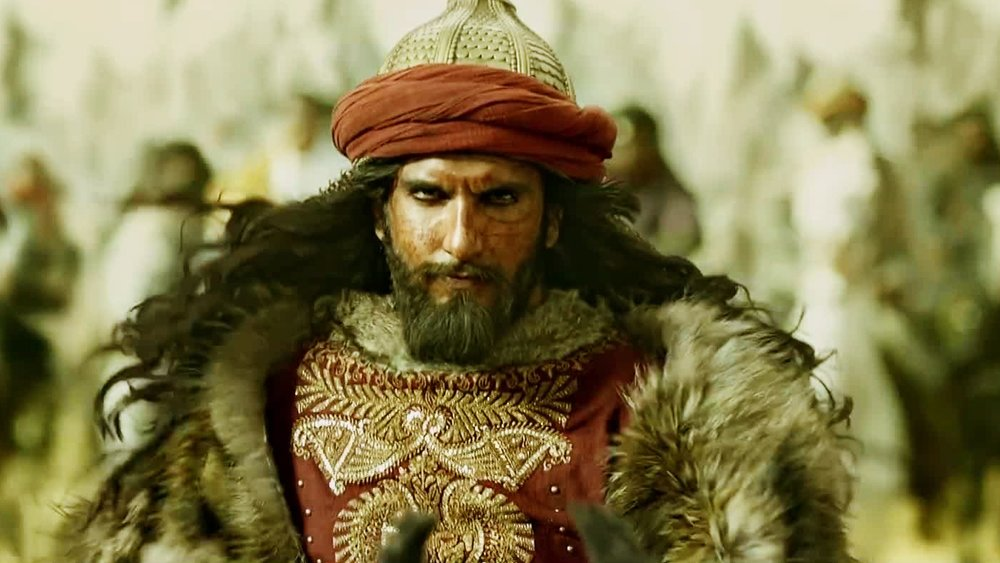 The movie is really about Ranveer Singh's Emperor Alauddin Khilji