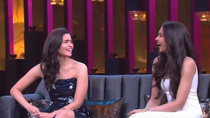 Giggles galore - Alia and Deepika open  Koffee With Karan Season 6