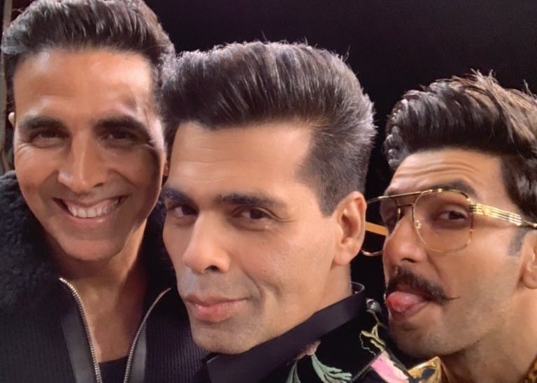 Ranveer and Akshay kept the show ticking along with their madness