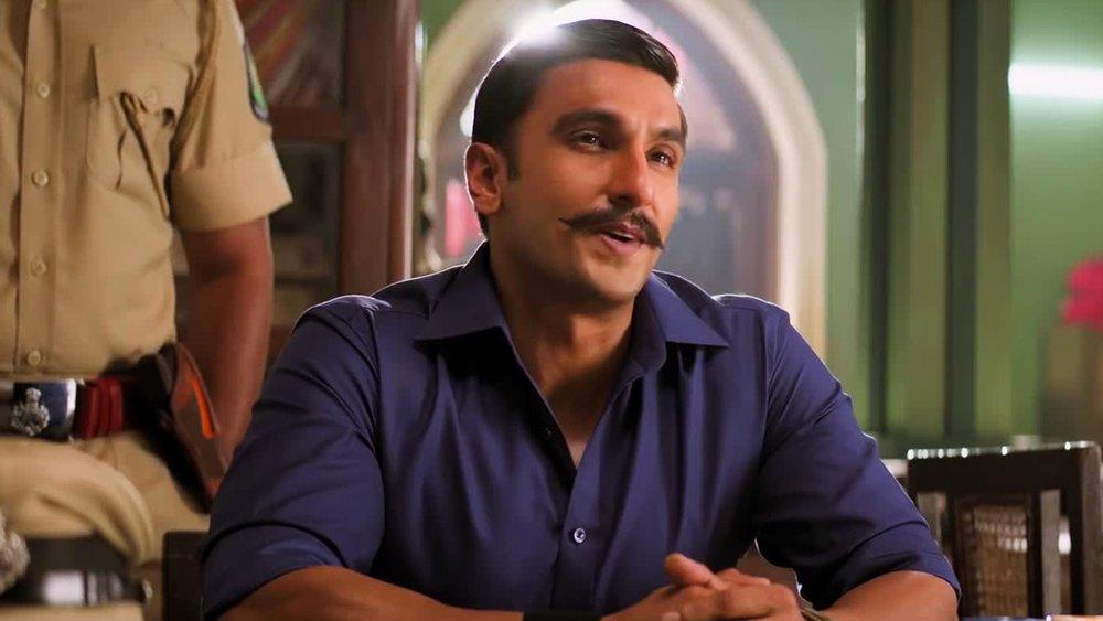 Ranveer Singh is in fine form in  Simmba