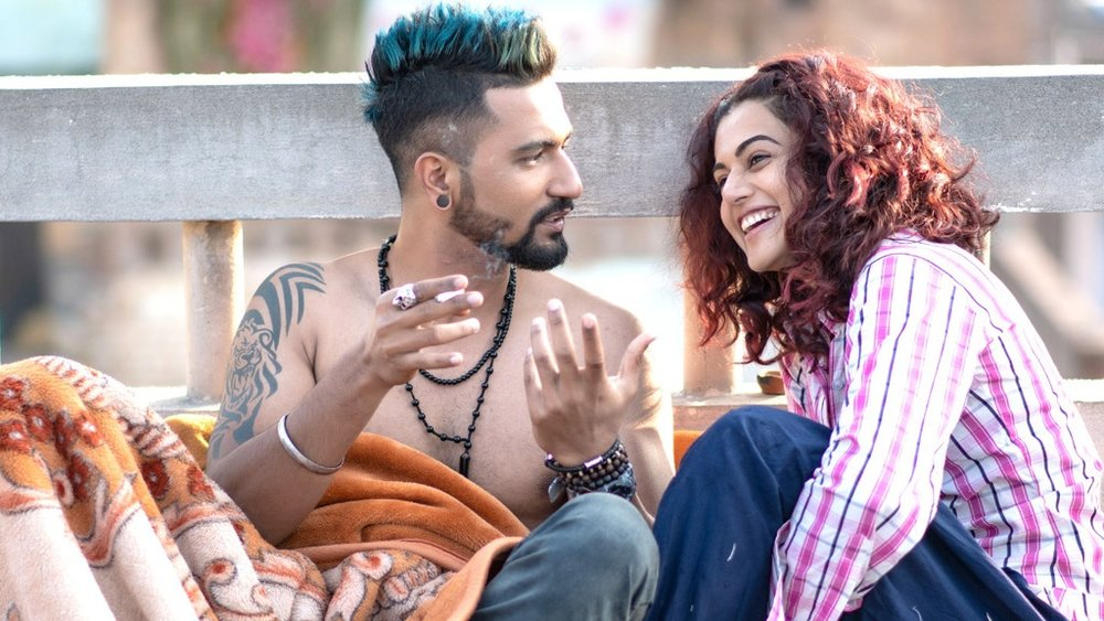 Taapsee Pannu's Rumi, a character with such force of personality that she singlehandedly elevates  Manmarziyaan
