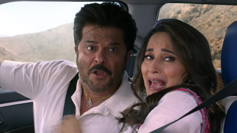 Anil Kapoor & Madhuri Dixit are a riot but by themselves there's little they can do to salvage this nonsense