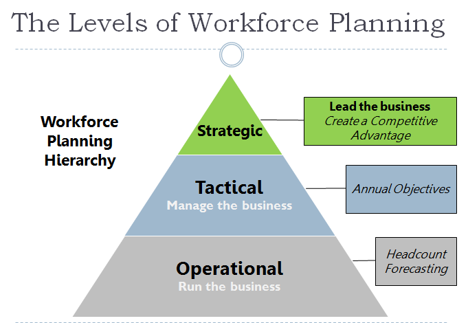 The Levels of Workforce Planning