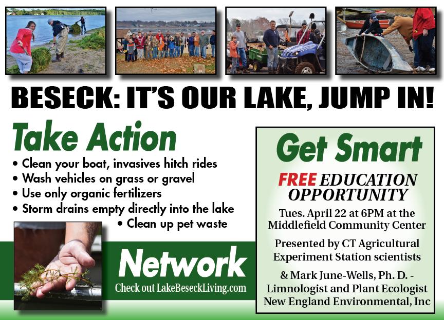 Lake Beseck Postcard front (2).jpg