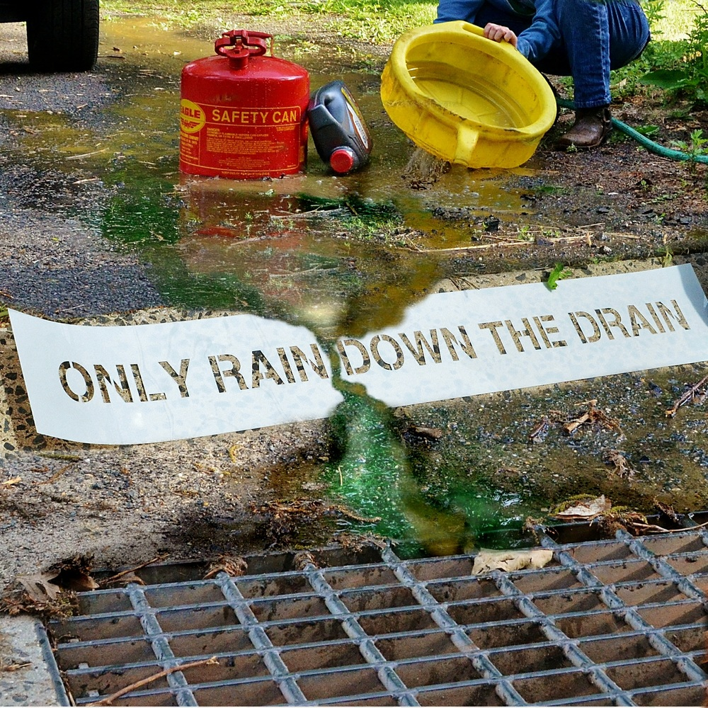 how to find storm drains