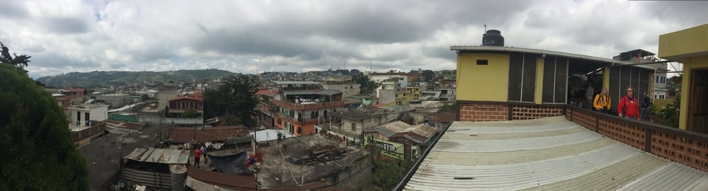 View of Sumpango from our gracious hosts' home.