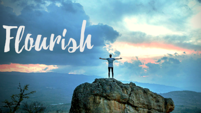 We flourish as God intends by building our life around one reality, and three pursuits.