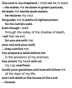 Psalm 23 without the Good Shepherd.png
