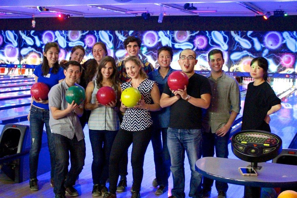 October 2016 SIR lab bowling!