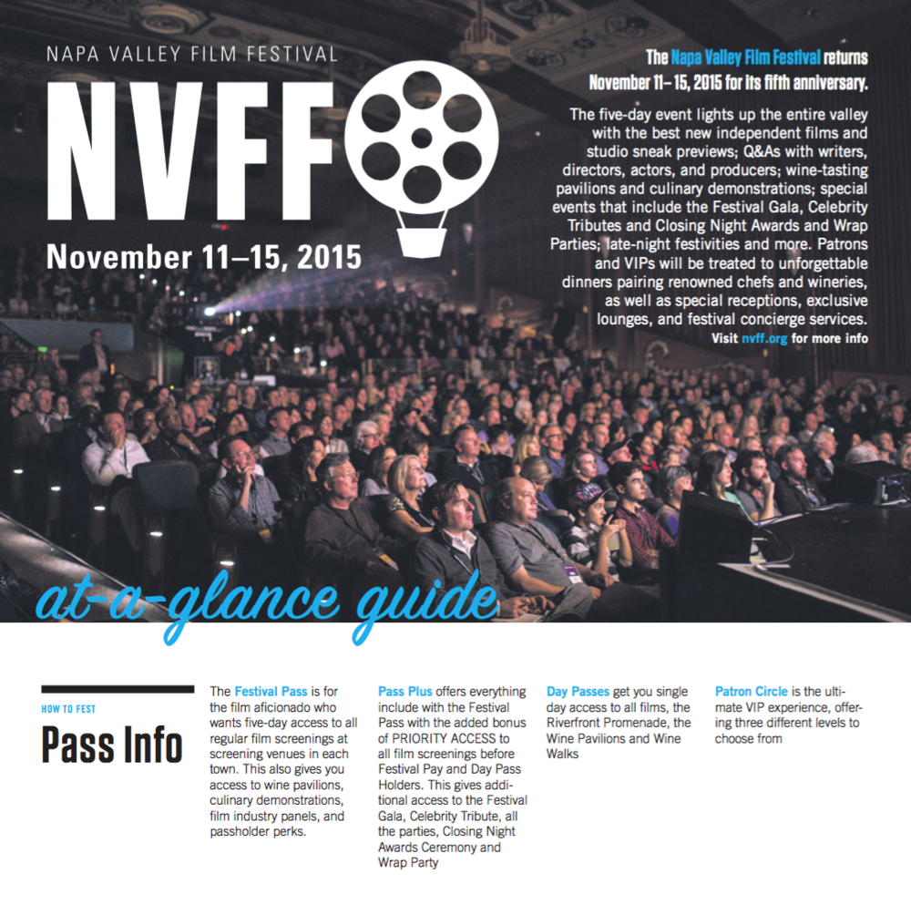 NVFF 2015 4-Page Pullout - Napa Valley Register