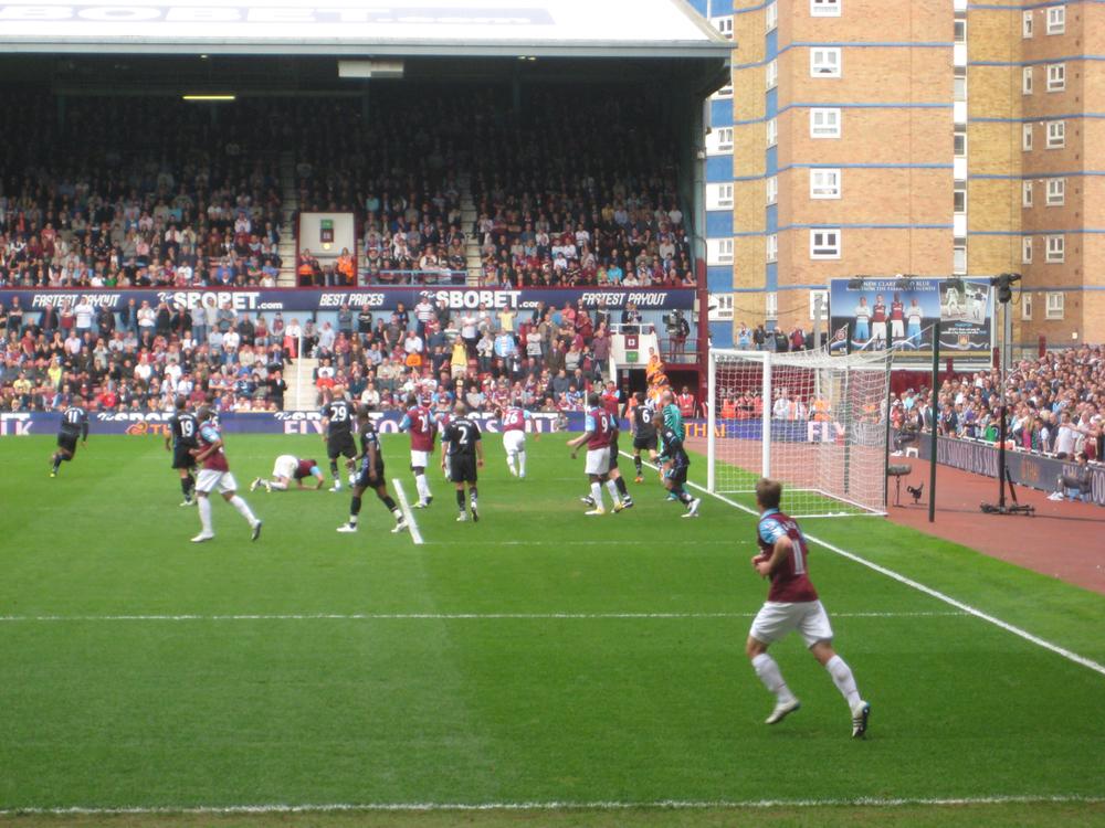 Upton Park - West Ham v Aston Villa