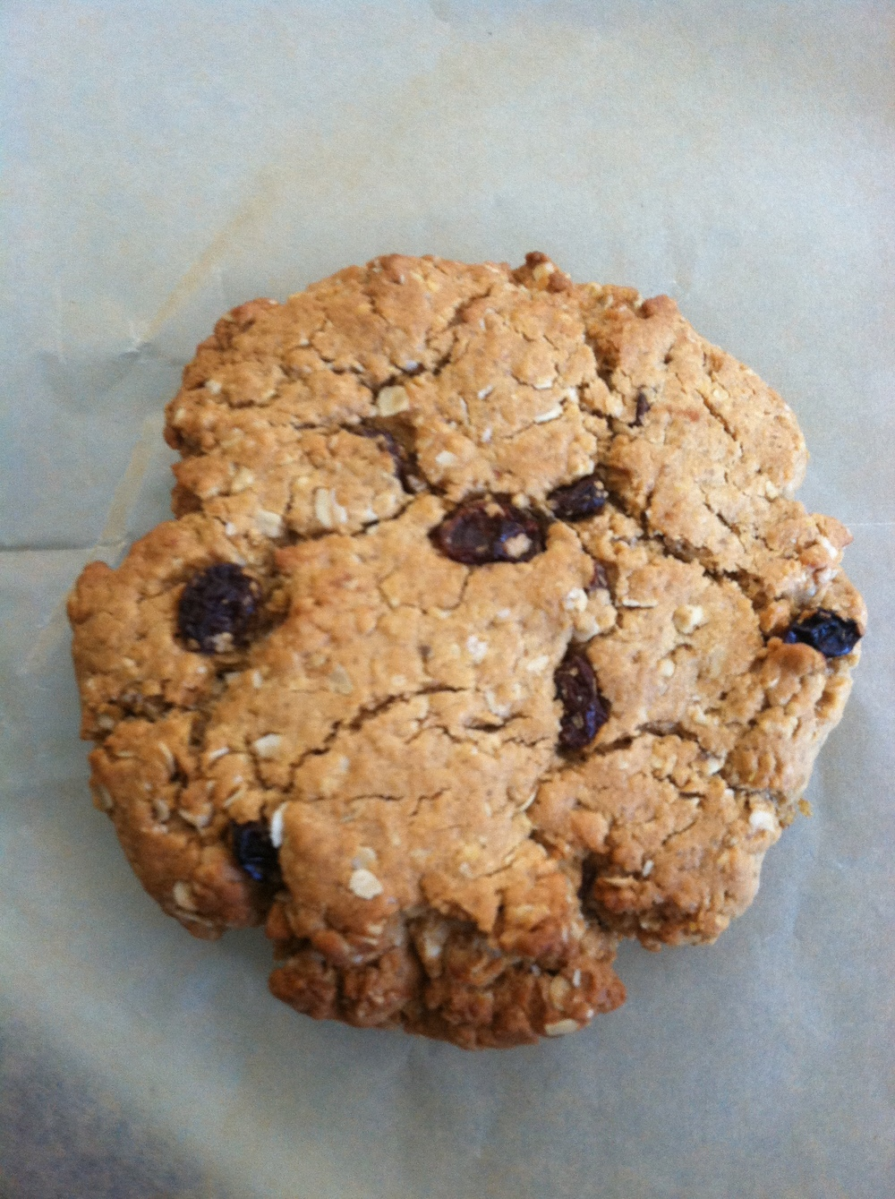 Breakfast Cookie from   Biltmore Coffee Roasters   using 100% Carolina Ground flour.