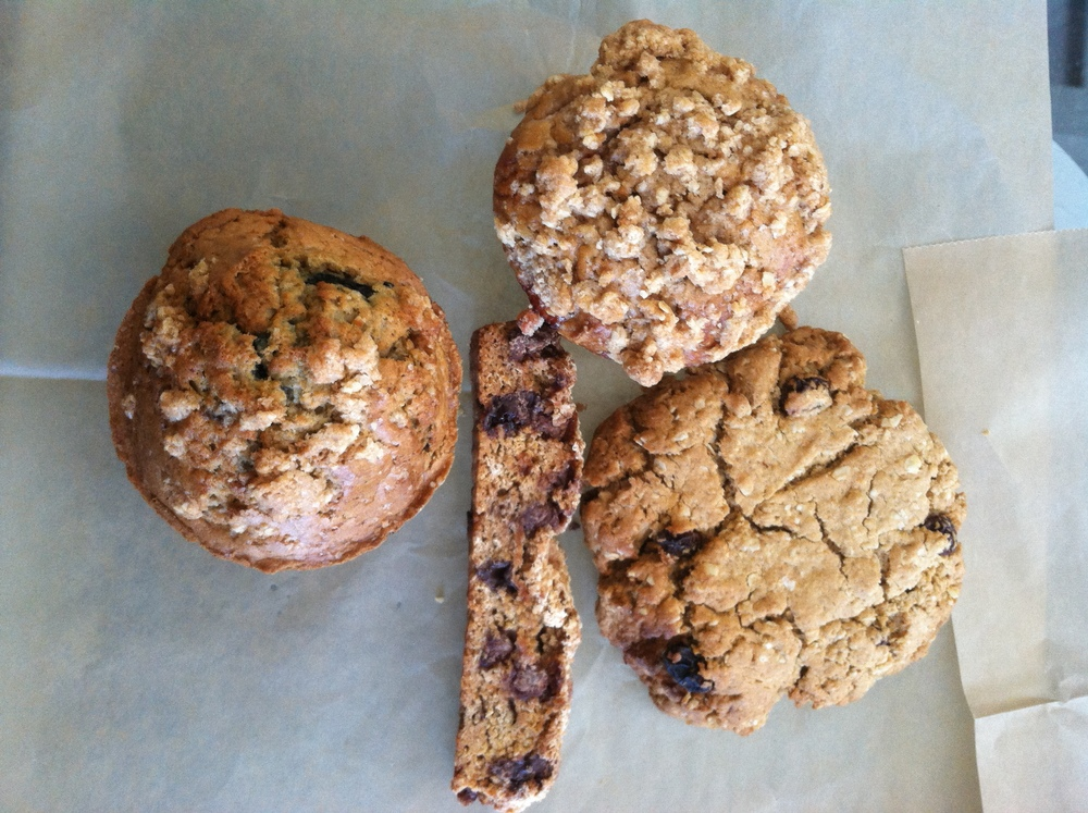 Cookies, Muffins & Biscotti from   Biltmore Coffee Roasters   using 100% Carolina Ground.