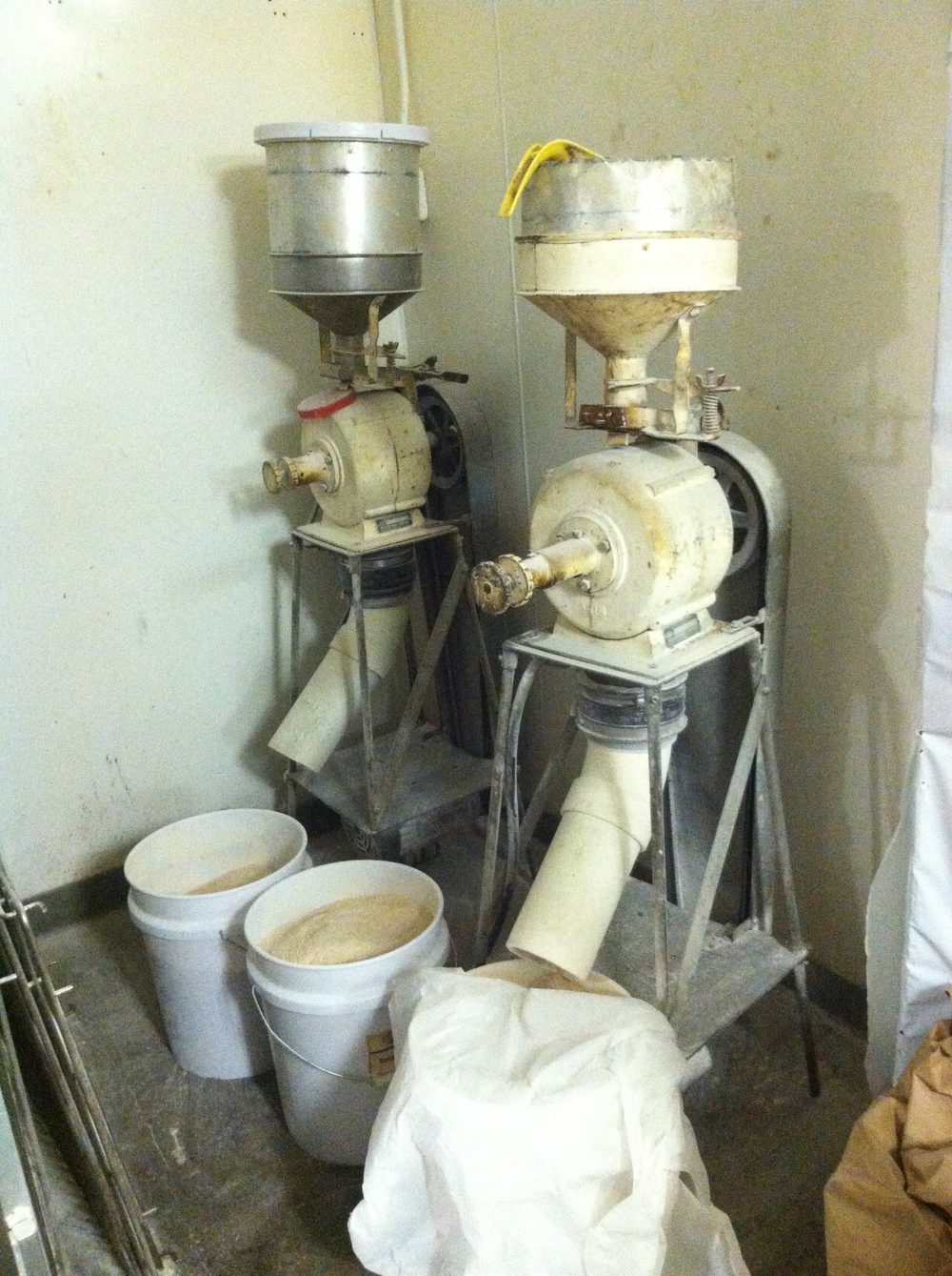 The Mills at   Wildflour Bakery   used to mill our grain in-house.