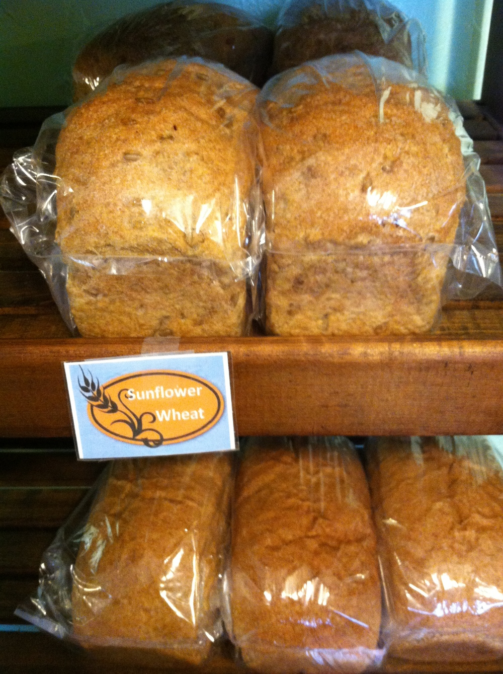 Sunflower Wheat Breads from   Wildflour Bakery   using our TAM 303 grain milled in-house.