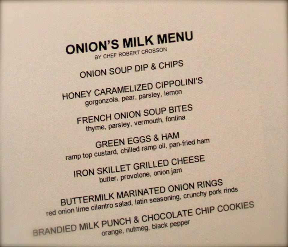 Onion's Milk