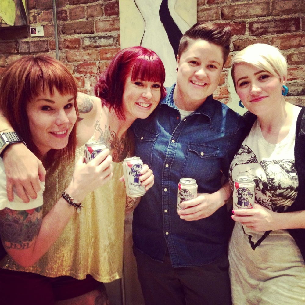 Pretty Ladies with Pretty Damn Good Beer