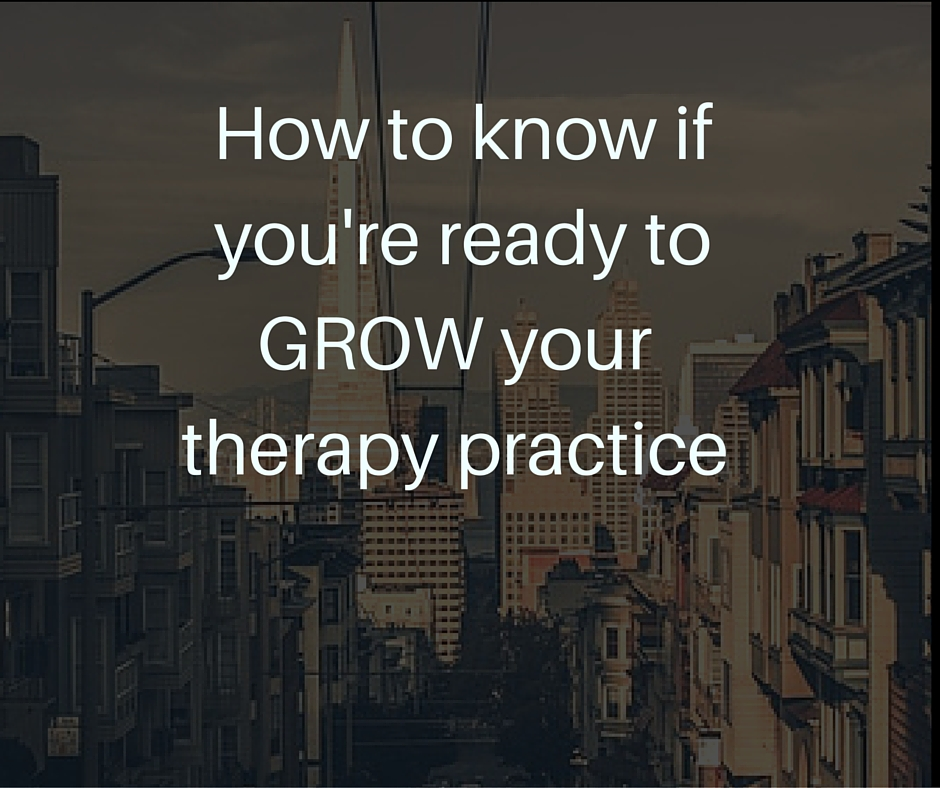 grow your therapy practice