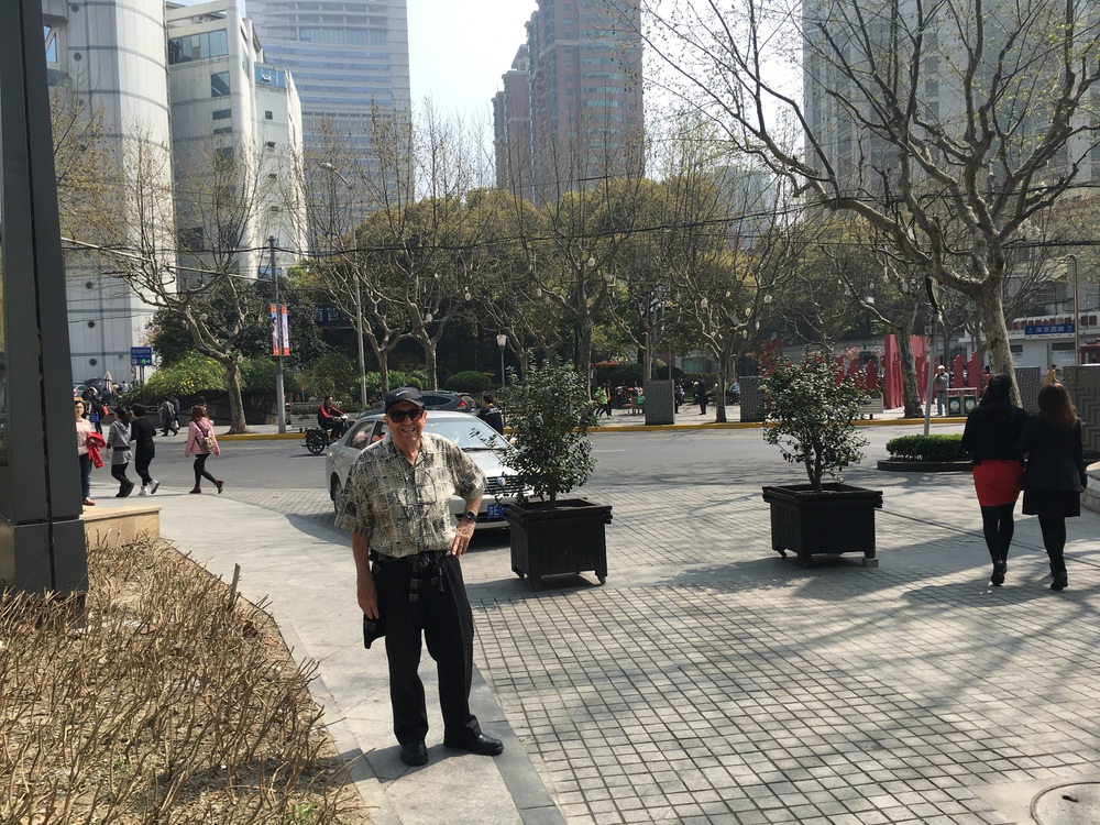 On Nanjing Street