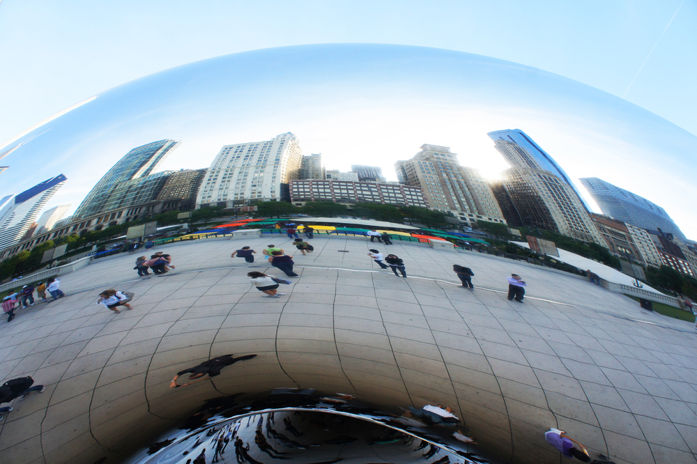 Cloud Gate, Millenium Park. Image courtesy of Laura Schmahmann.