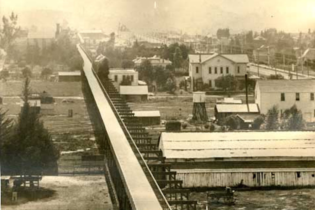 LA's 1892 private Cycling Superhighway. Source: Motherboard