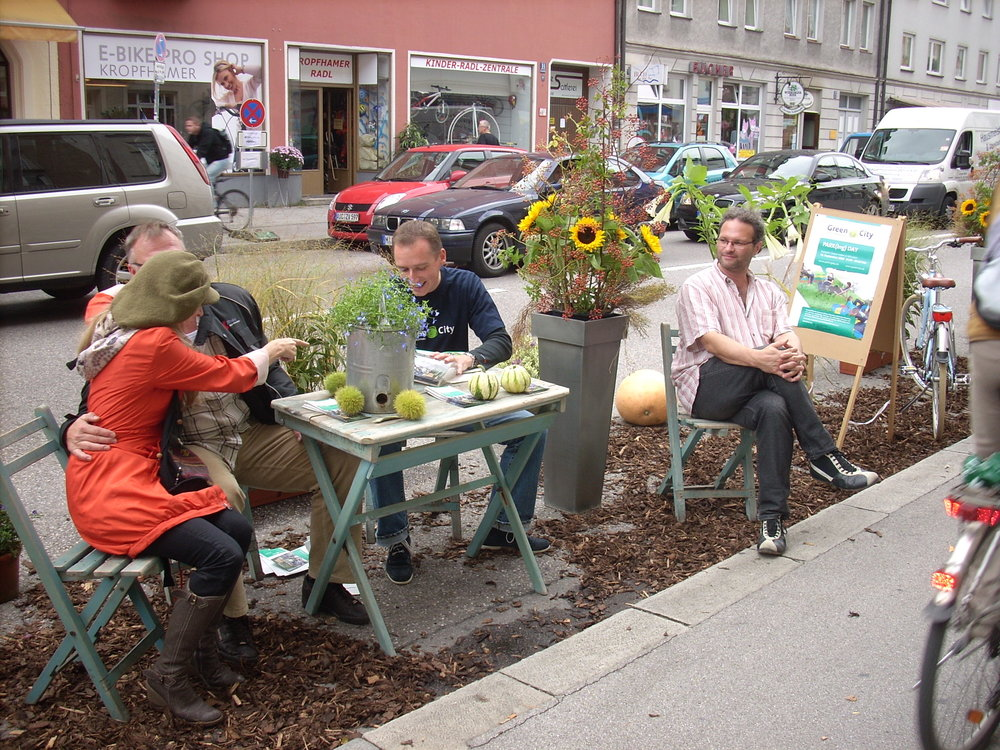 Image Courtesy of PARK(ing) Day