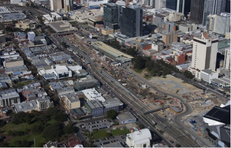 City Square and the Perth City Link Project Area.