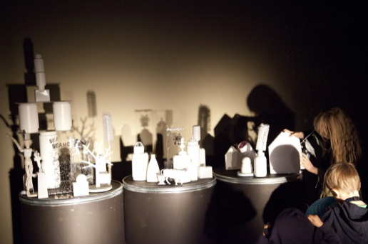 Prototype the Future  Art Installation. Beams Festival 2013. Sydney. Photo credit: Nyssa Mitchell