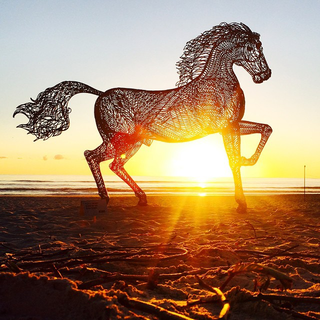 Swell Sculpture Festival. Image courtesy of @moregoldcoast.