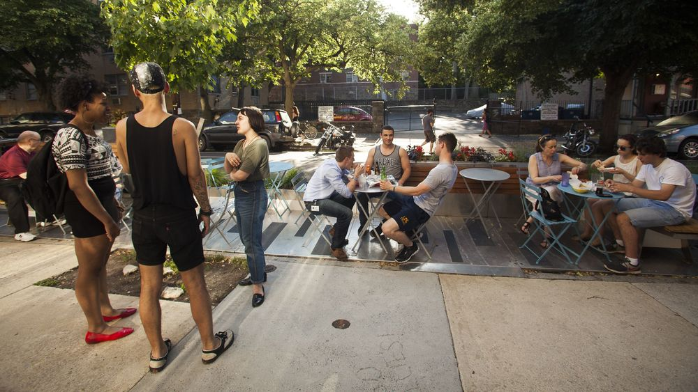 West Philly Parklets. Source: newsworks.org