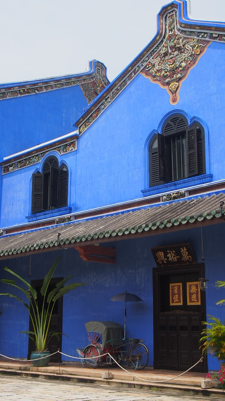 Cheong Fatt Tze Mansion, one of the first buildings to be restored in Georgetown. Photo courtesy Vanessa Pilla
