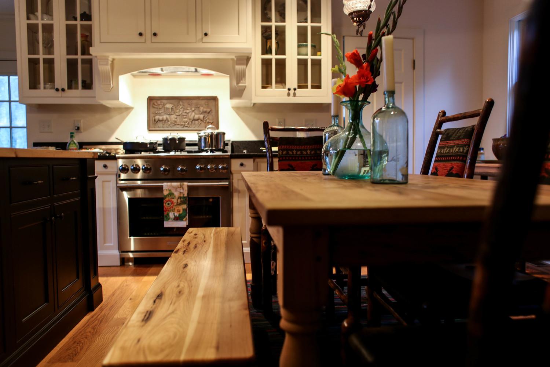 Wormy Chestnut Kitchen Cabinets For Sale