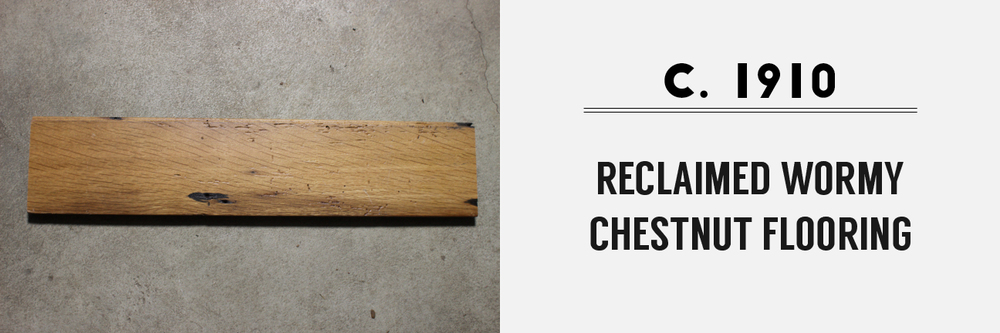 Reclaimed Raw Materials — Mount Vernon Barn Company