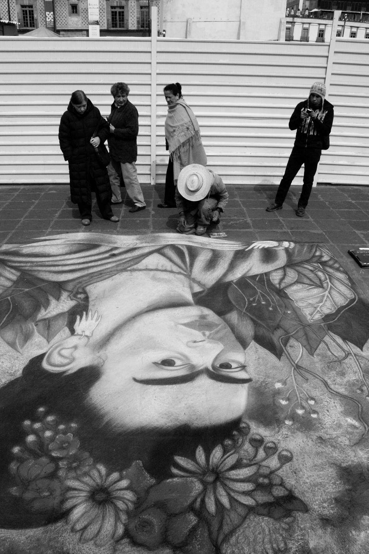Con Frida, en Tiza, Lo Nuevo y Lo Viejo