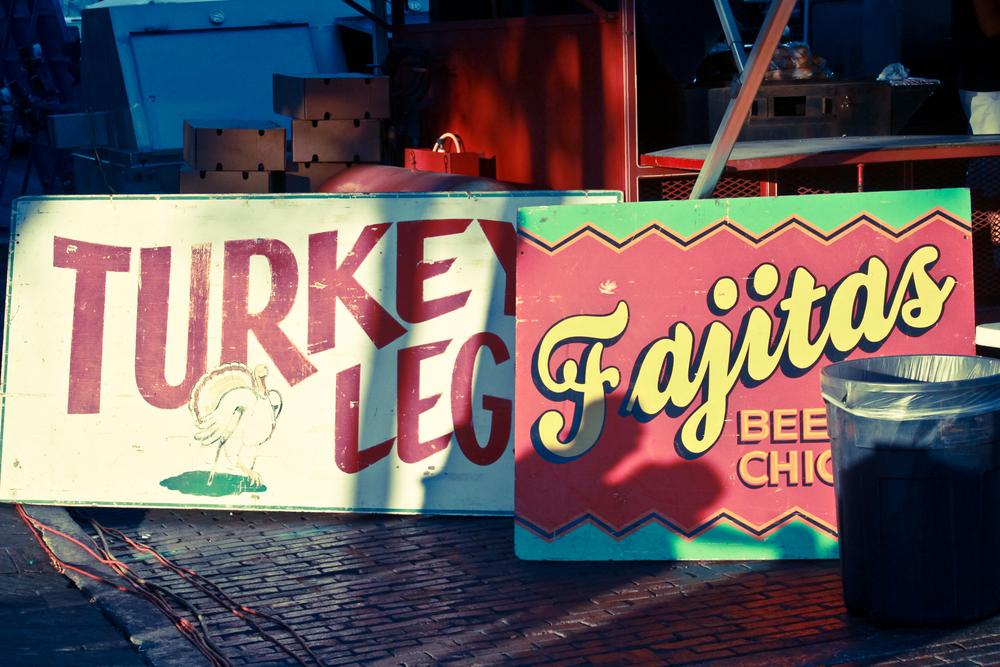 Turkey Leg Fajitas