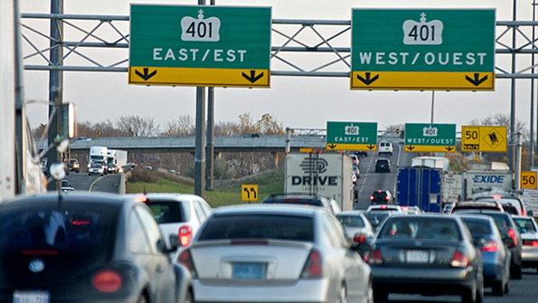 Image source - CBC News -Traffic-hating website lures Torontonians to Sarnia-Lambton