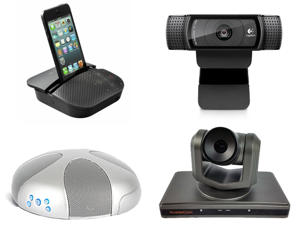 recommended peripherals for video conferencing