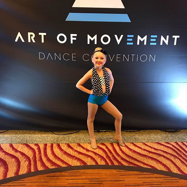 First Competition and Convention in the books!!! So proud!!! A huge thank you to @mollynaj for the solo choreography and thank you @tilt_dancewear for Hartley's fantastic solo costume!! Thank you too to @alexandra.elyse and @claukris for taking the time to work with Hartley and a huge congrats to teammate Gianna on her scholarship!!!#ittakesavillage @danceaom @inspireaod #dancelife #dancefamily #danceconvention #artofmovement #live #love #laugh #dance #getinspired