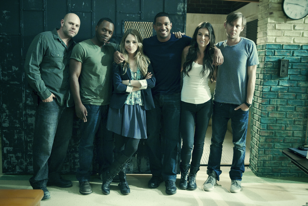 Breakout Kings: Domenick Lombardozzi, Malcom Goodwin, Brooke Nevin, Laz Alonso, Serinda Swan, Jimmi Simpson