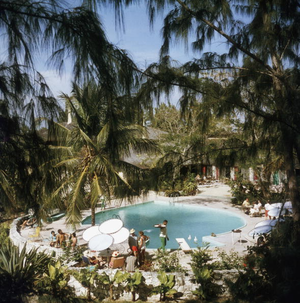 Eleuthera Pool Party, 1970
