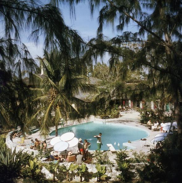 Eleuthera Pool Party, 1970