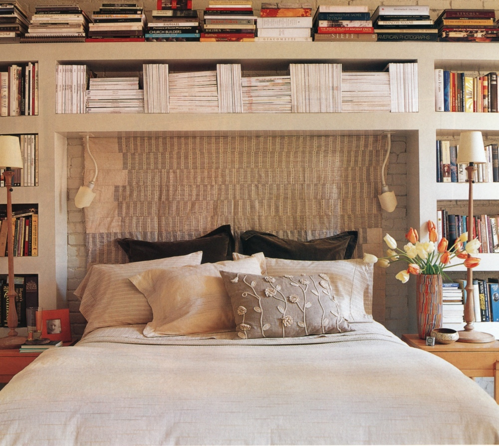 Cool Bookcases Around Bed Home Design Ideas Pictures Remodel And Decor