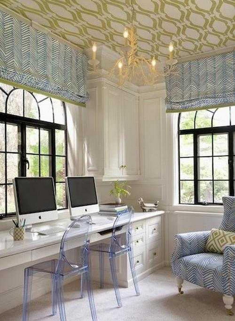 home-office-wallpapered ceiling.jpg