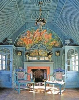 Tea house designed by Elsie de Wolfe