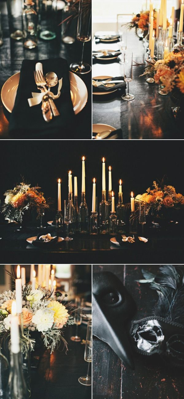 Chic Halloween Decor Ideasbrettvdesignblog