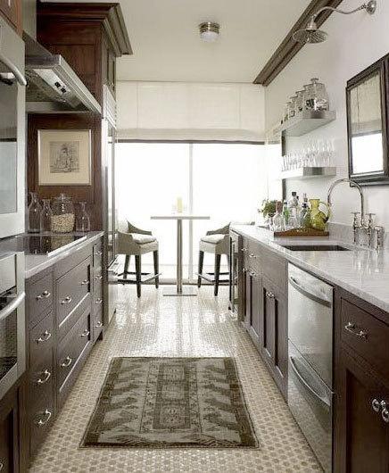 Why I Love Galley KitchensbrettVdesignblog