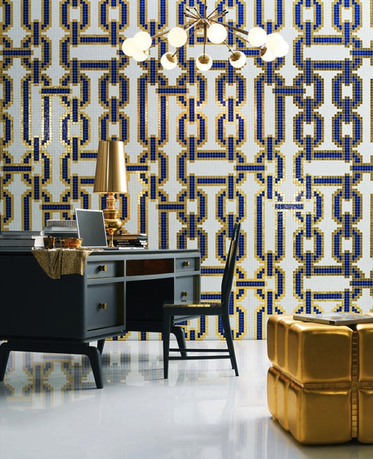 Chain Link by bisazza, via inthralld