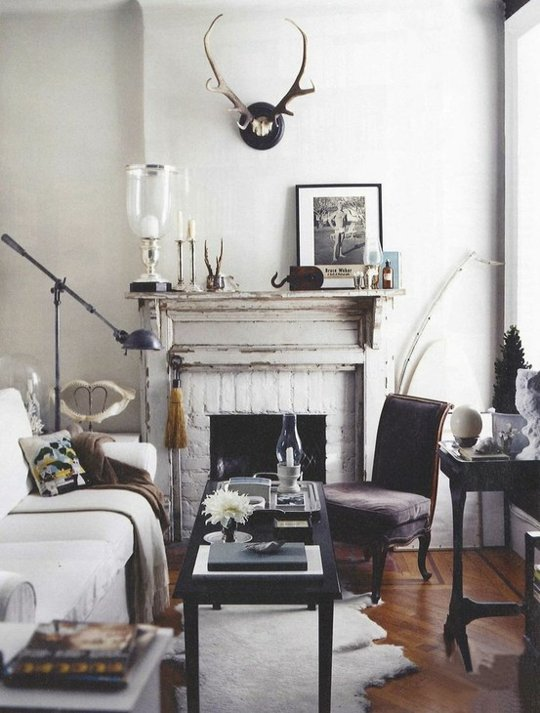 design :: angie helm interiors.  Seen in domino magazine
