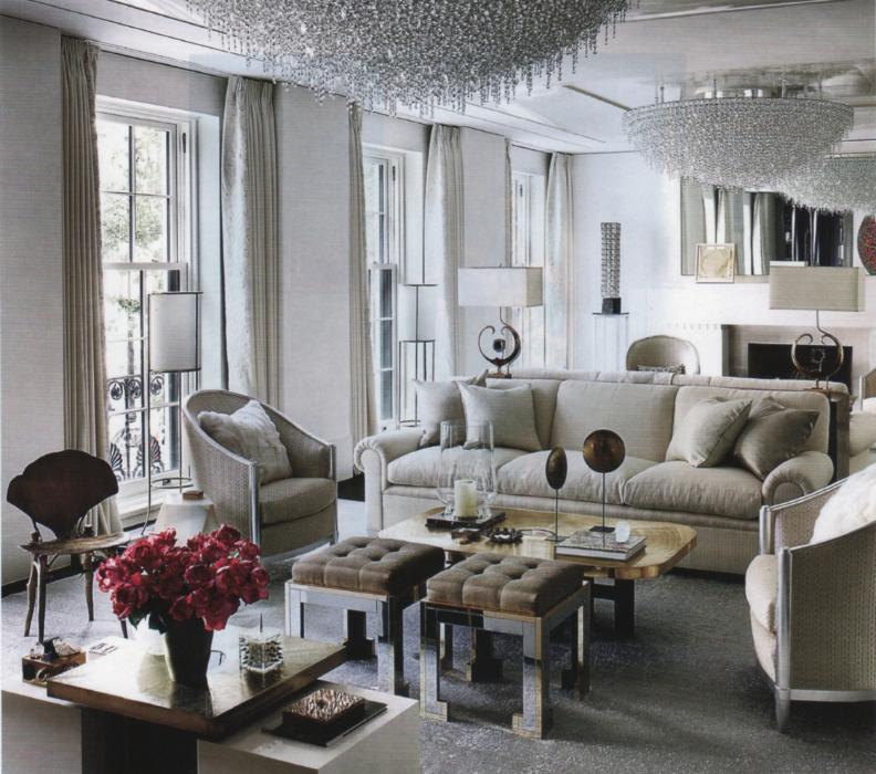 The basics of monochromatic room designbrettvdesignblog for Monochromatic living room ideas