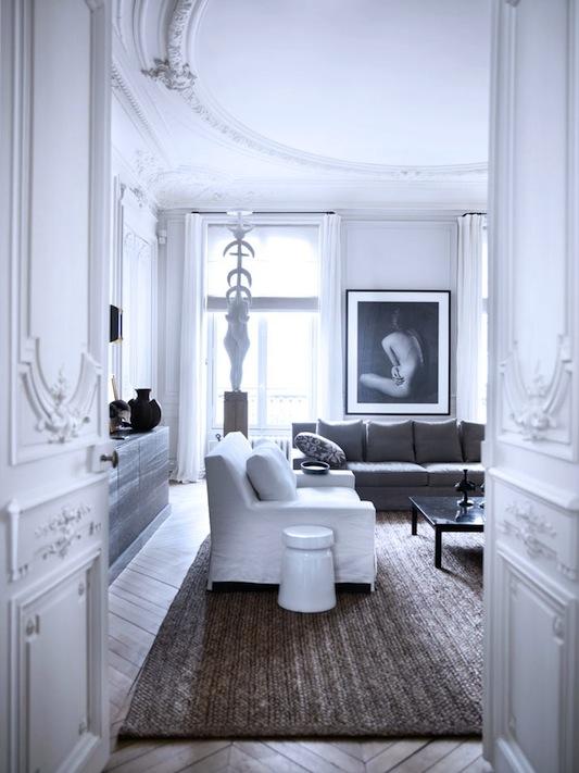 patrick gilles + dorothée boissier's paris apartment